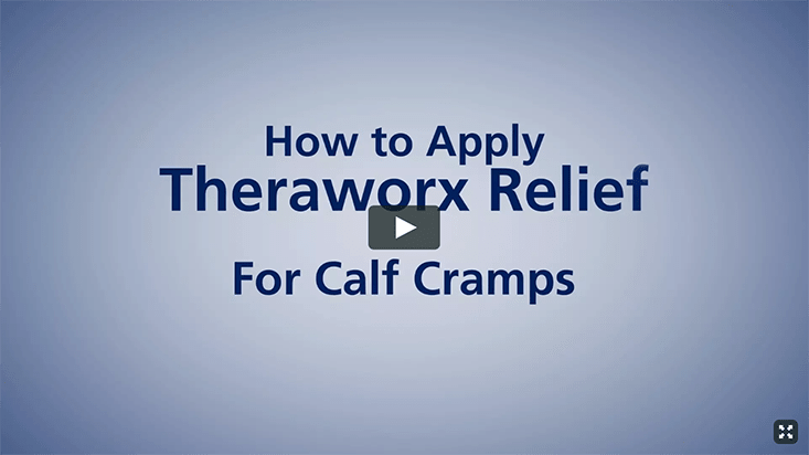Theraworx Relief: How To Use - Calf Cramps