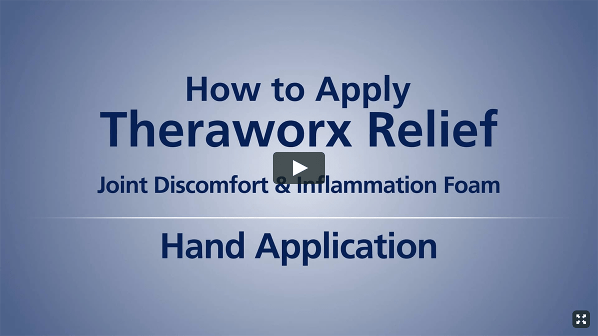Theraworx Relief: How To Use - Foot & Toe Cramps