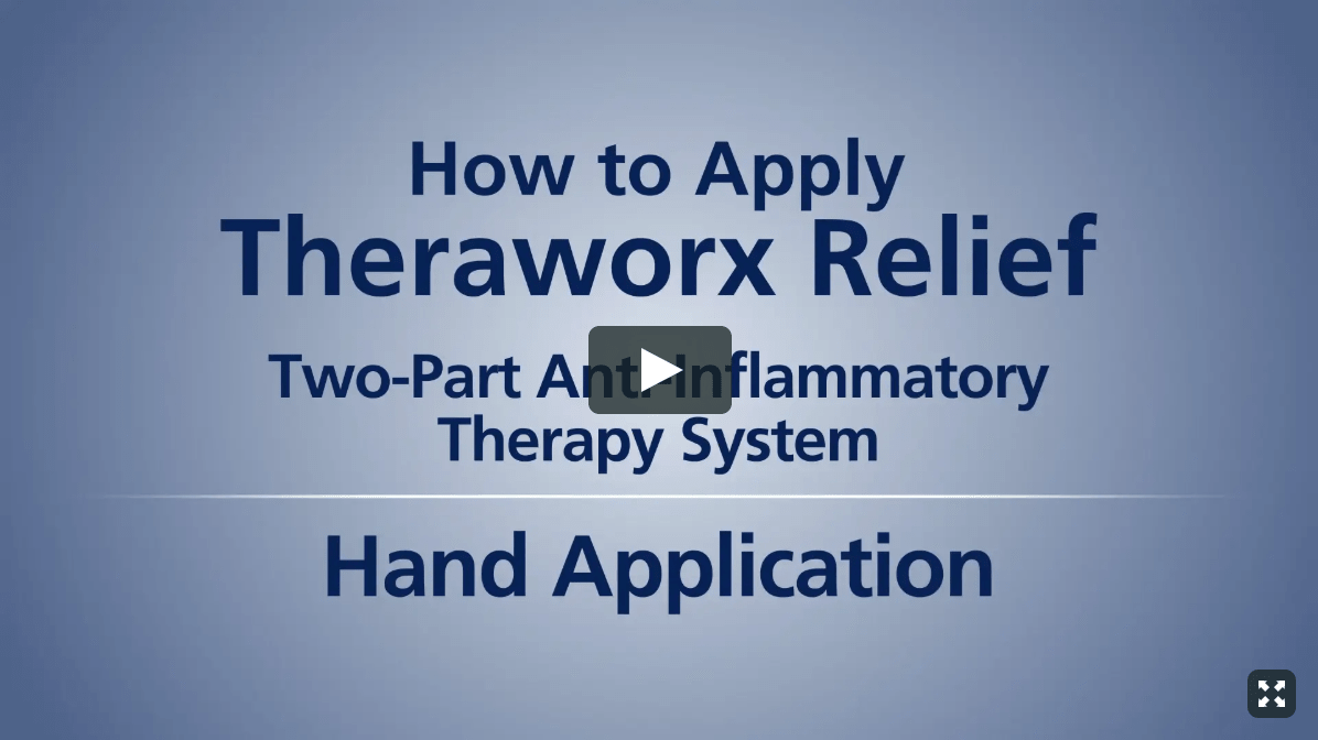 Theraworx Relief: How To Use - Thigh Cramps
